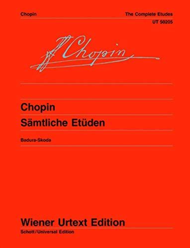 Sämtliche Etüden : für Klavier: Fr�d�ric Chopin