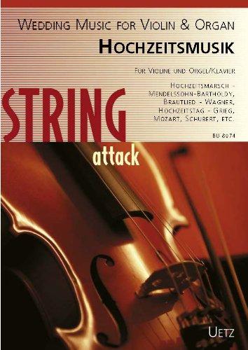 Hochzeitsmusik :für Violine und Orgel (Klavier)