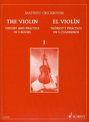 9790543500549: CRICKBOOM - El Violin Teorico y Practico 1º