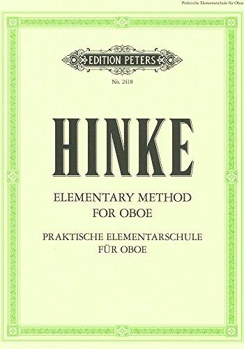 Elementary Method Hautbois: Hinke