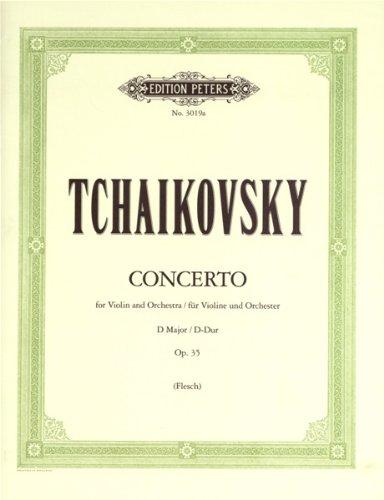 Konzert D-Dur op.35 für Violine undOrchester : für Violine und Klavier: Peter Iljitsch ...
