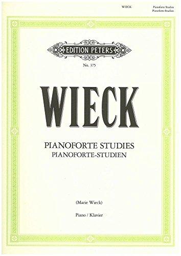 Pianoforte Studies : für Klavier: Johann Gottlob Friedrich Wieck