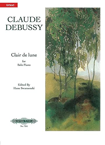 clair de lune from suite bergamasque alfred masterwork edition
