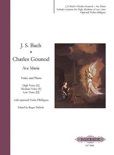Ave Maria: Johann Sebastian Bach