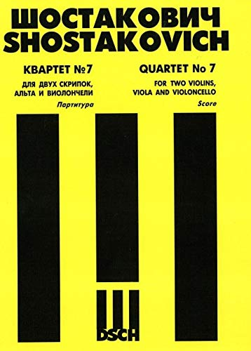 9790706364643: String Quartet No. 7. Score.