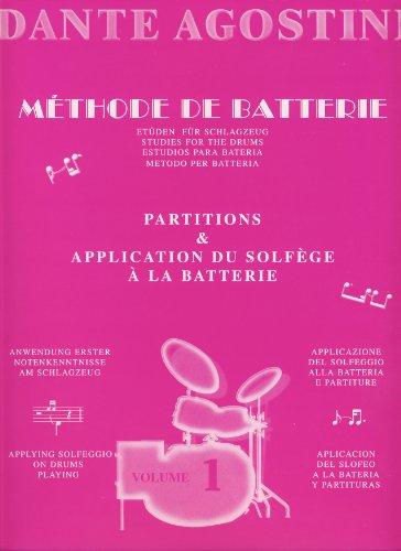Solfege Rythmique 1  Agostini Dante  method Schlagzeug 9790707005118