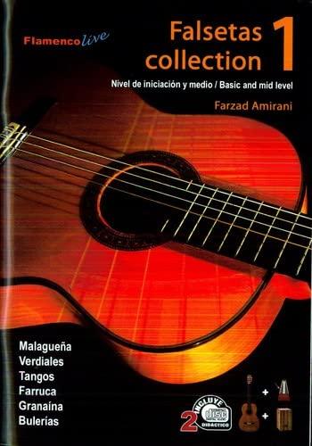 9790801227089: Falsetas Collection Vol 1 (Libro/CD- Book/CD) - Farzard Amirani
