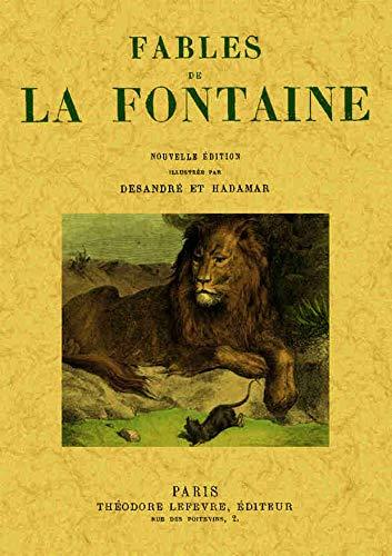 FABLES DE LA FONTAINE: LA FONTAINE, JEAN