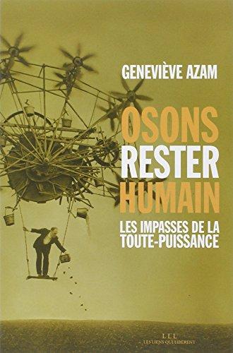 OSONS RESTER HUMAIN: AZAM GENEVIEVE