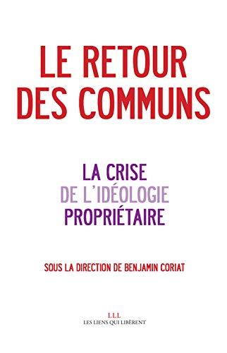 RETOUR DES COMMUNS -LE-: CORIAT BENJAMIN