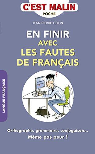 EN FINIR AVEC LES FAUTES DE FRANCAIS: COLIN JEAN PIERRE