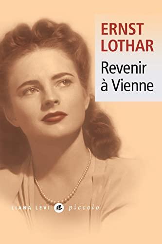 Revenir à Vienne: LOTHAR ERNST
