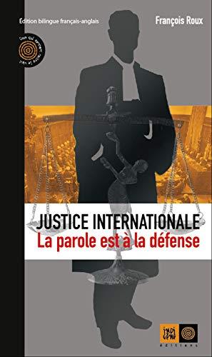 Justice internationale: Roux, François