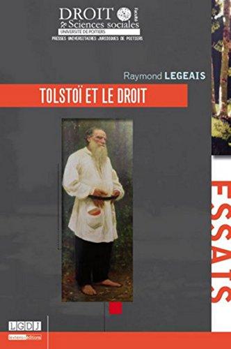 9791090426337: Tolstoï et le droit