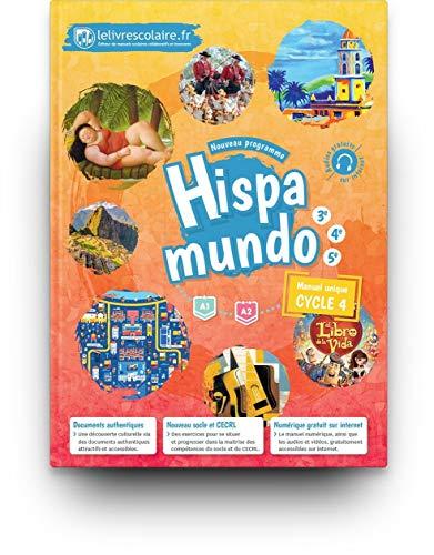 9791090910973: Espagnol Cycle 4 (5e 4e 3e) Hispamundo : Manuel élève
