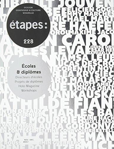 ETAPES N 228 ECOLES ET DIPLOMES: COLLECTIF
