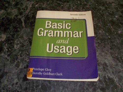 Basic Gramer and Usage: penelope choy