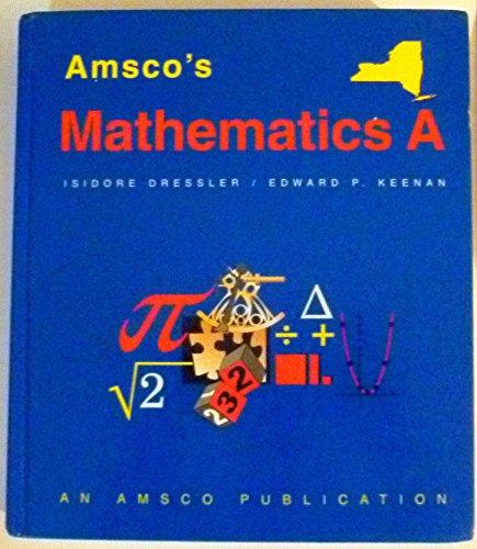 9791567655468: Amsco's Mathematics A