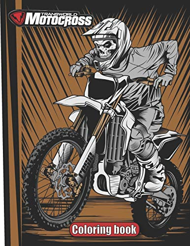 9798553857295: Motocross coloring book: Motocross And Sports Motorcycle for adults