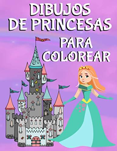 9798559402352: Dibujos de Princesas Para Colorear: Libro de Colorear Para Niñas y Niños Con 100 Hermosos Dibujos de Princesas, Sirenas y Unicornios