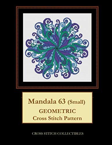 9798575093626: Mandala 63 (Small): Geometric Cross Stitch Pattern