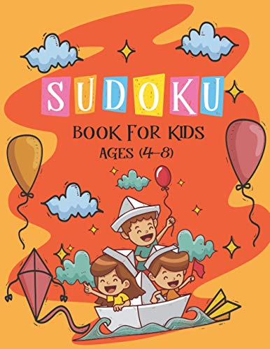 Sudoku Book for Kids Ages 4-8: The: Ak Dreams Publishing
