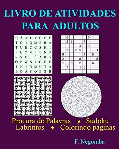 9798591244385: LIVRO DE ATIVIDADES PARA ADULTOS