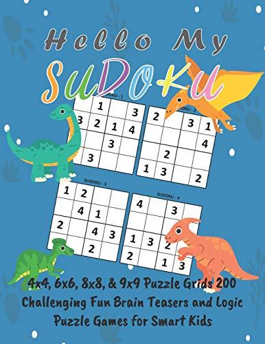 Hello My Sudoku: 4x4, 6x6, 8x8, &: Adam Krypton Publishing
