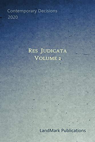 9798668900404: Res Judicata: Volume 2