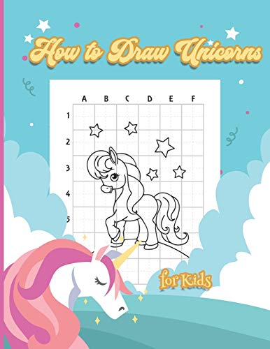 9798689248103: How to Draw Unicorns for Kids: Step-by-Step Drawing and Activity Book for Kids to Learn to Draw Unicorns