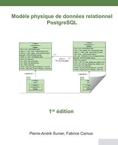 9798691589386: Modèle physique de données relationnel: PostgreSQL