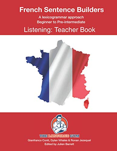 9798720273682: French Listening Sentence Builders - TEACHER BOOK