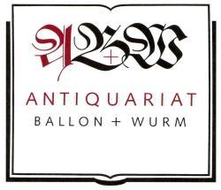 Antiquariat Ballon + Wurm