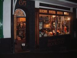 The Sanctuary Bookshop.