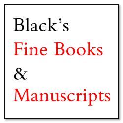 Black's Fine Books & Manuscripts