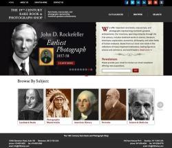 19th Century Rare Book & Photograph Shop